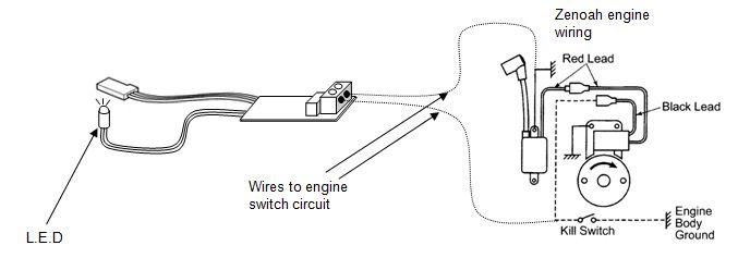 mrw57 zenoah engine kill switch